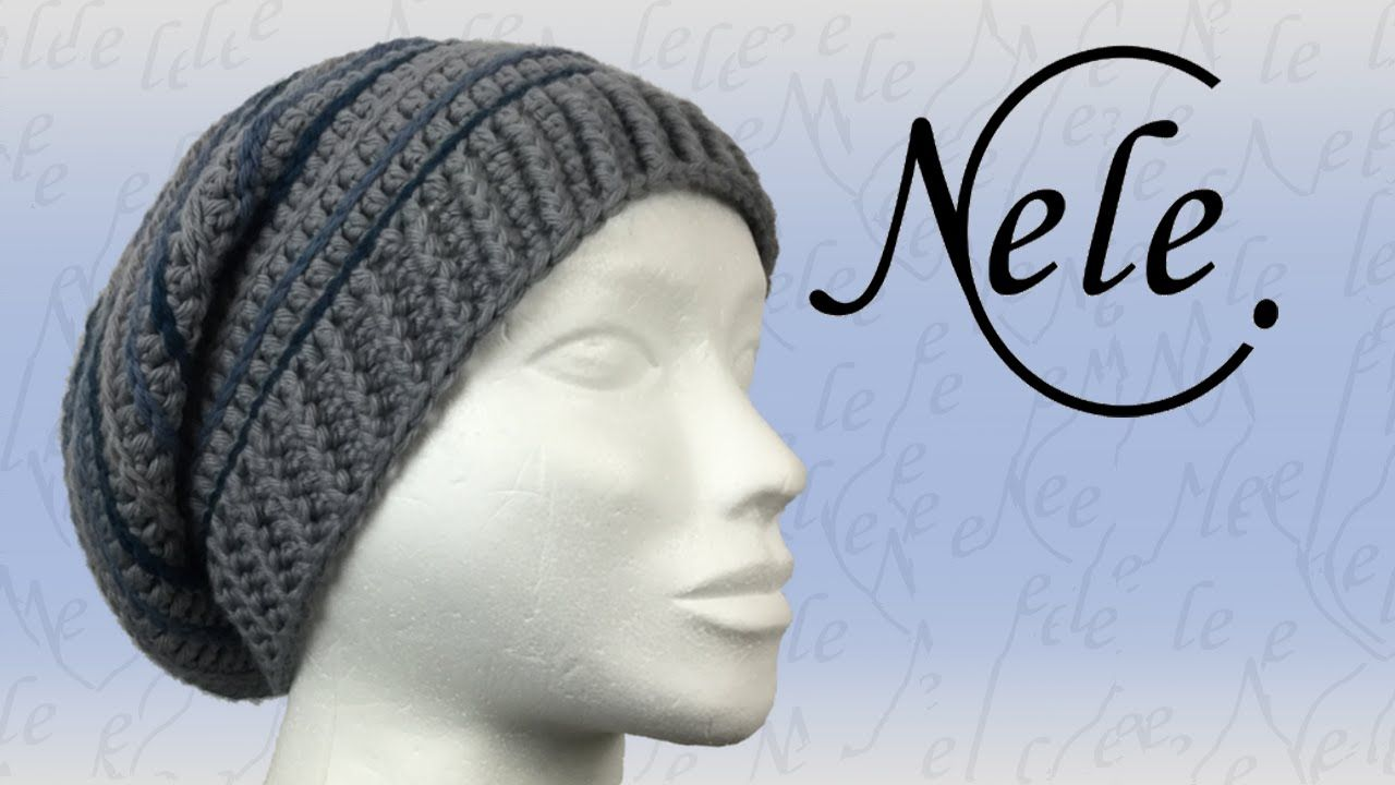Mütze Häkeln Lernen Für Anfänger Häkelmütze Anleitung Diy By Nele