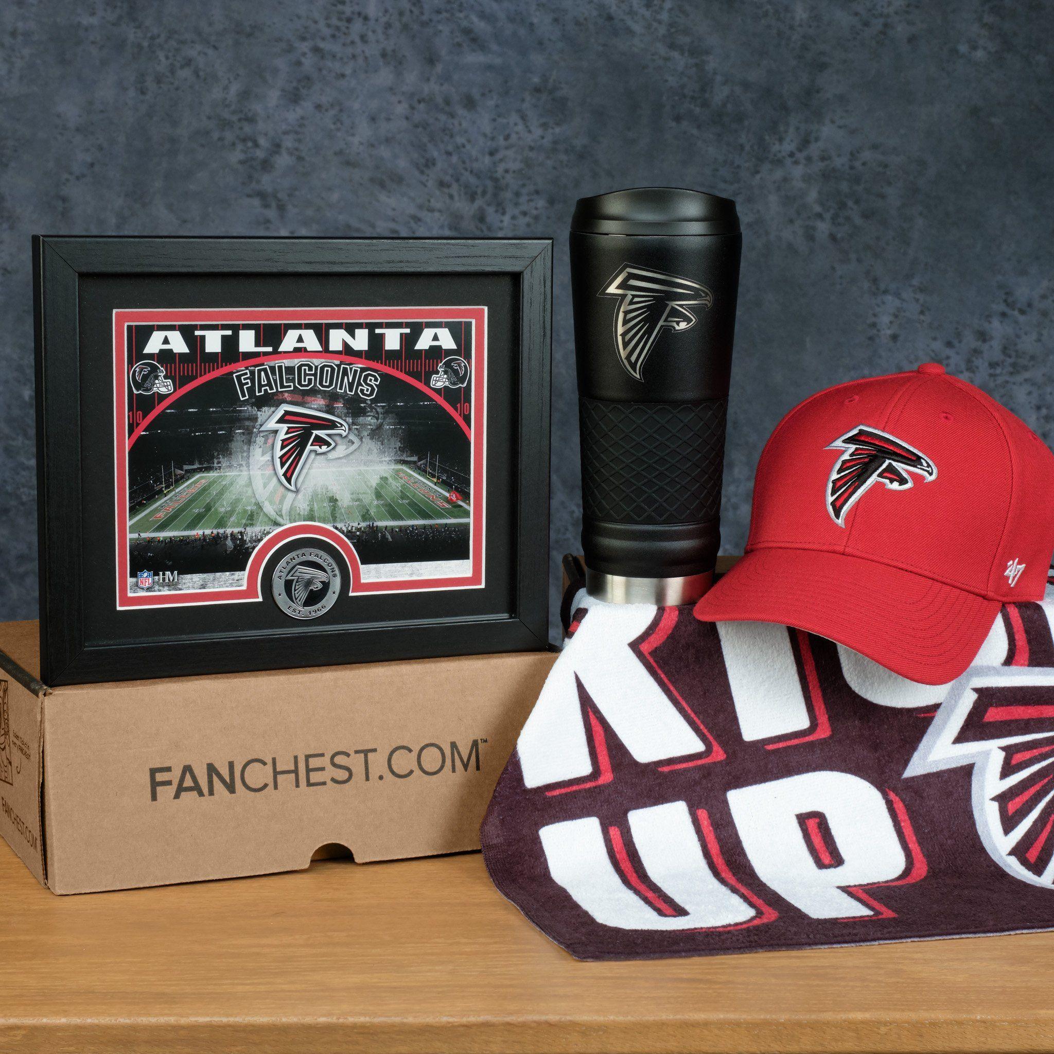 Atlanta Falcons Gift Box Premium Falcons Gear Fanchest Atlanta Falcons Gifts Atlanta Falcons Atlanta Falcons Baby