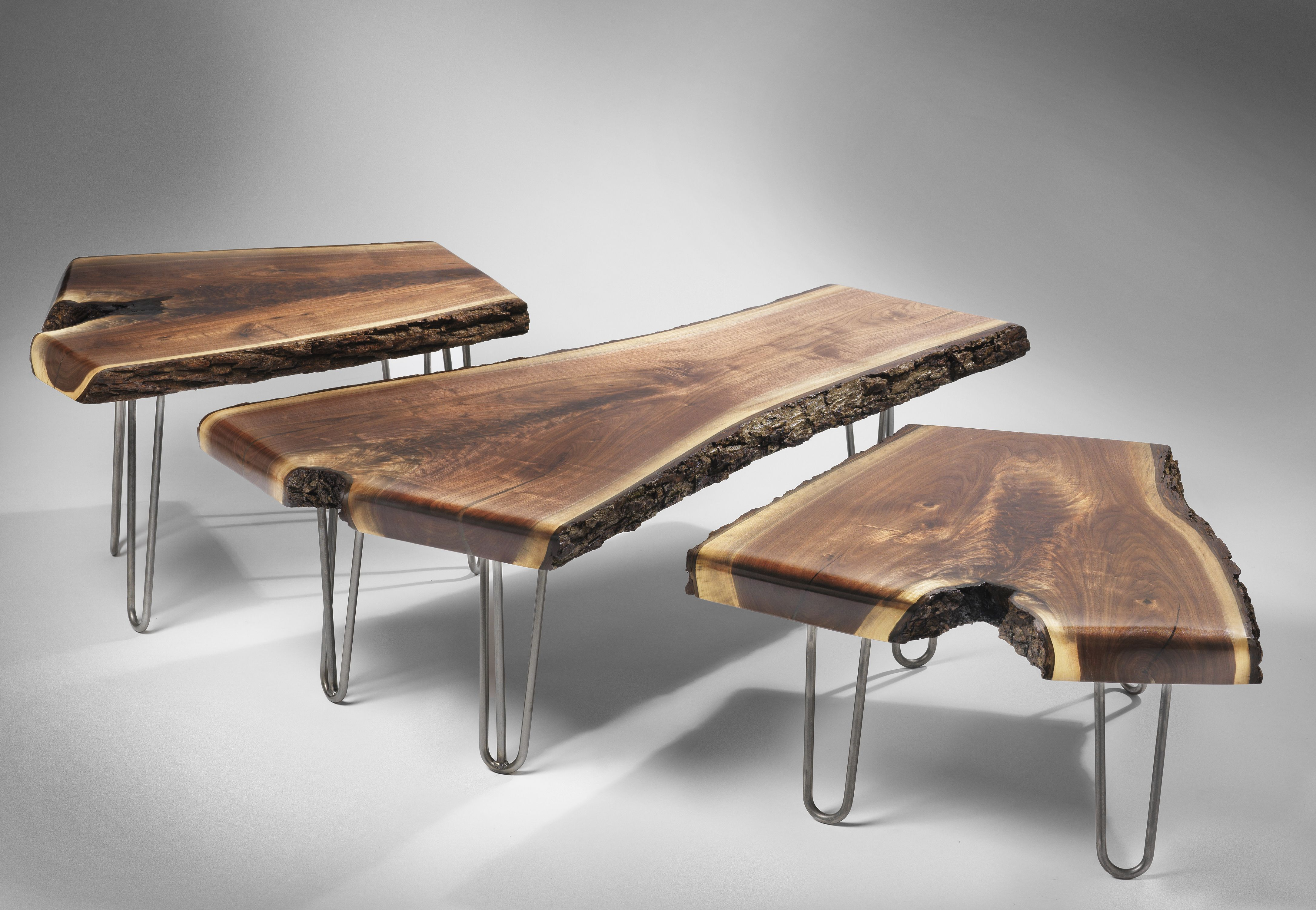 3 Rod Hairpin Legs Wood And Metal Table Coffee Table Wood Metal Table [ 3006 x 4344 Pixel ]
