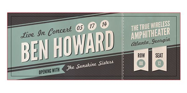 Concert Tickets Template 19 Free Concert Ticket Designs PSD – Concert Ticket Templates