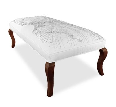 Butterfly Bodice Ottoman by Haute House