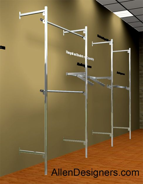 Outrigger Wall System  Display  Wall Store displays