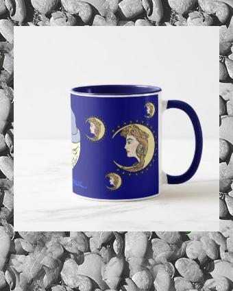 Moon Mother bedtime drinks mug |  Moon Mother bedtime drinks mug