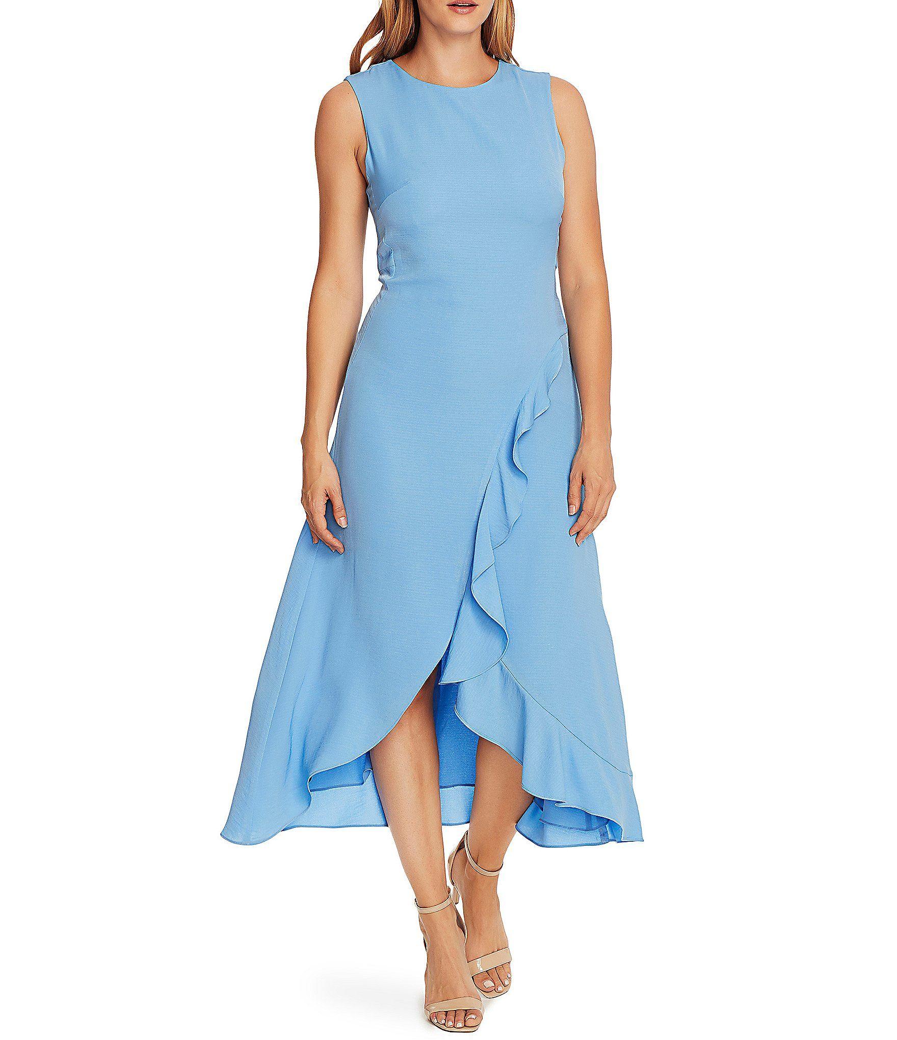 Shop For Vince Camuto Sleeveless Ruffled Asymmetrical Midi Dress At Dillard S Visit Dillard S To Find Clot Ruffled Dress Women Dresses Asymmetrical Midi Dress [ 2040 x 1760 Pixel ]