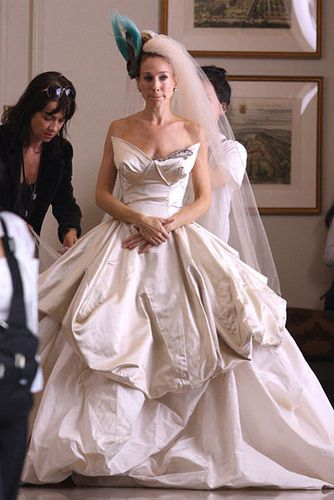 Carrie Bradshaw Wedding Dress Google Search