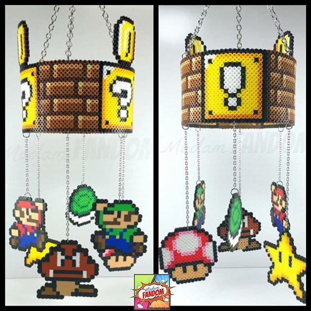 Super Mario Mobile   Super Mario Valentines Day Gift, Super Mario Home Decor,  Video Game Decor