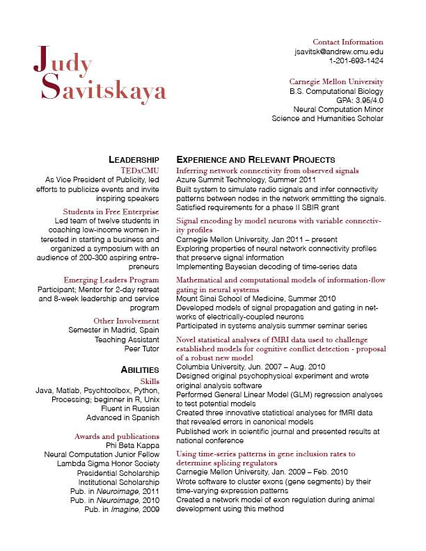 best resume font 2019