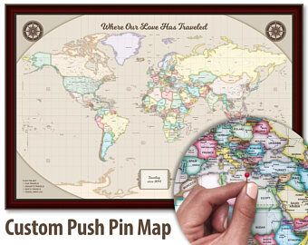 World travel map world map wall art world map push pin map art world travel map world map wall art world map push pin map art personalized map of gumiabroncs Image collections