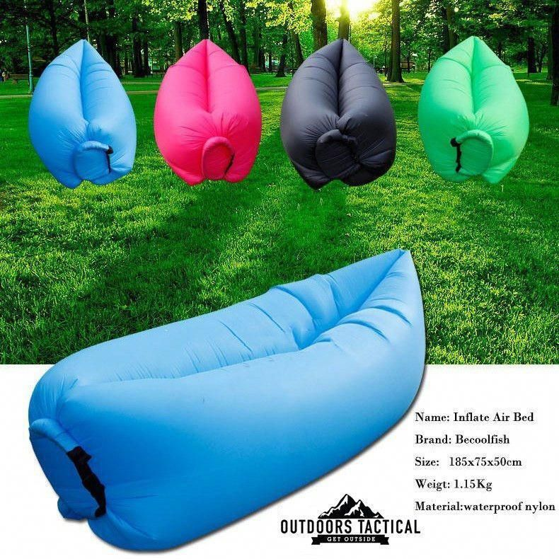 Air Chair Fast Inflatable Camping Outdoors Lounger