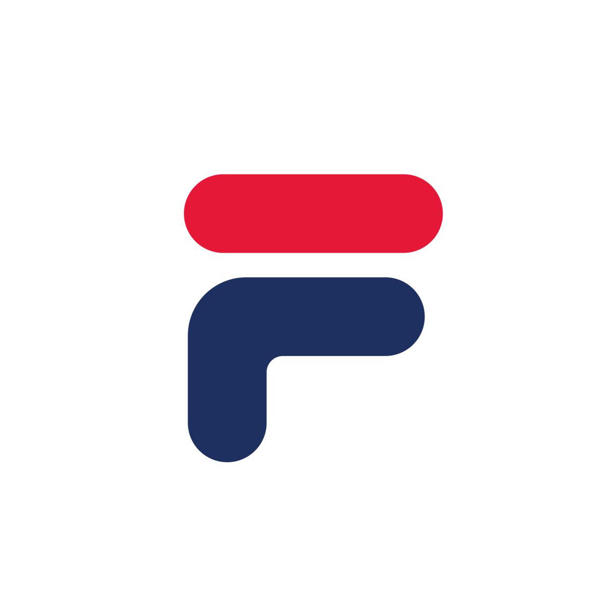 Fila Logo South Korea Letter F Lettering Letter Logo