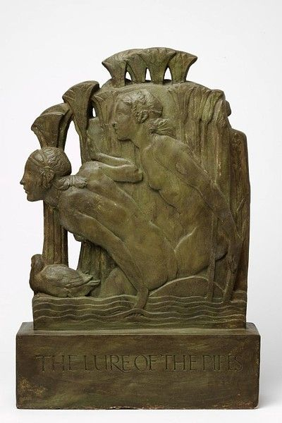 The Lure of the Pan Pipes    Object:  Relief    Place of origin:  London, England (made)    Date:  1932 (made)