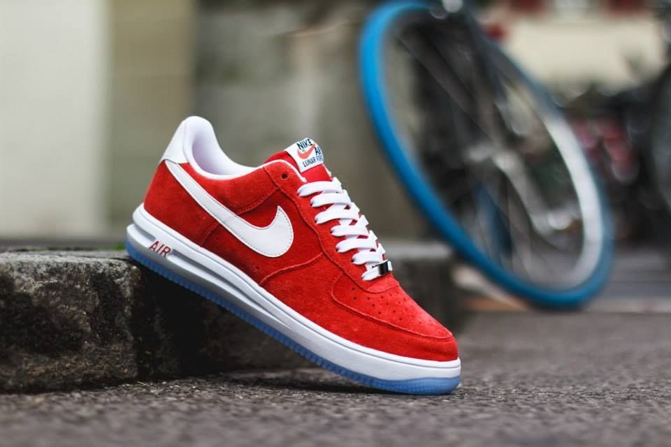 air force 1 lunar red