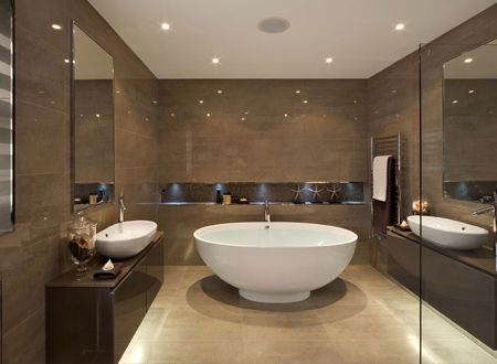 Modern bathroom | Interieur | Pinterest | Modern, Bath and Tubs