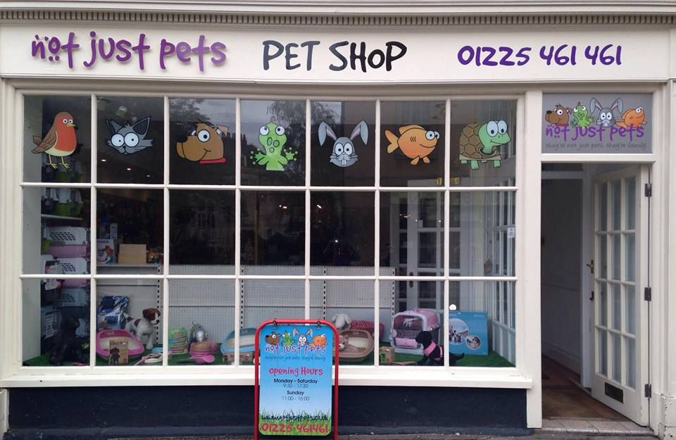 New Shop Front With Logo And Animal Heads Pet Shop Online Pet Store Shopping