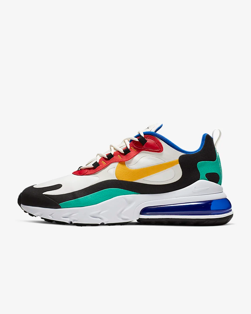 nike AIR MAX 270 REACT PHANTOMUNIVERSITY GOLD UNIVERSITY