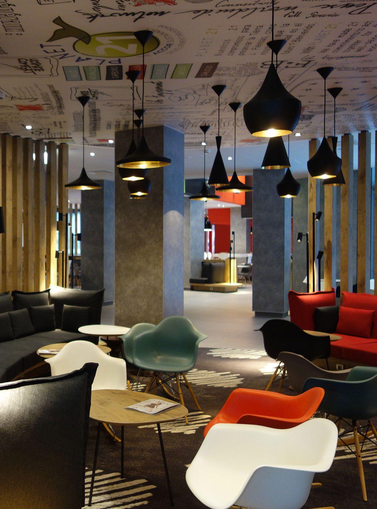Lobby Ibis Hotel Moscow Kievskaya Design by