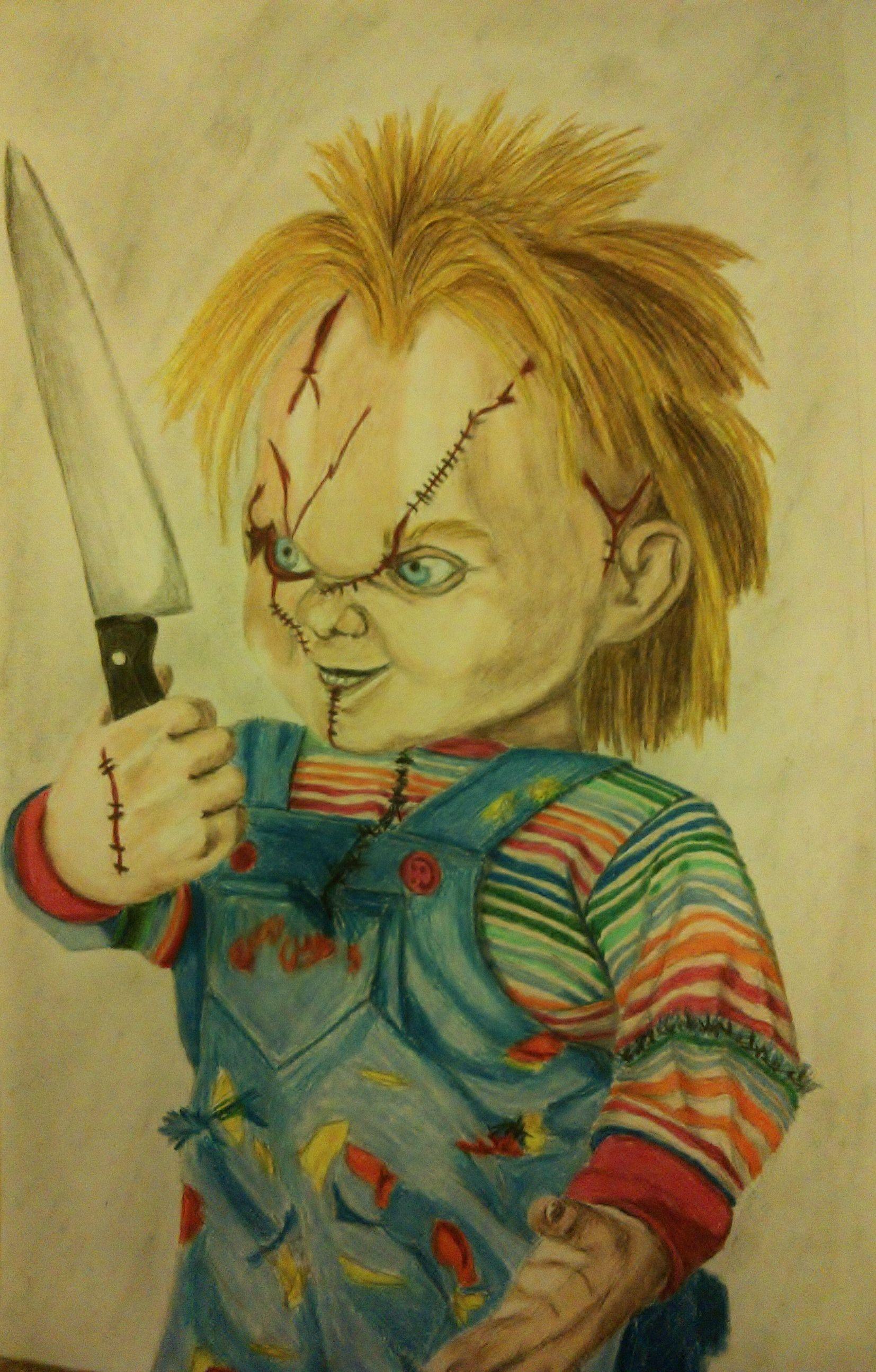 Chucky Tiffany Bride Of Chucky Horror Movie Characters Tiffany Bride