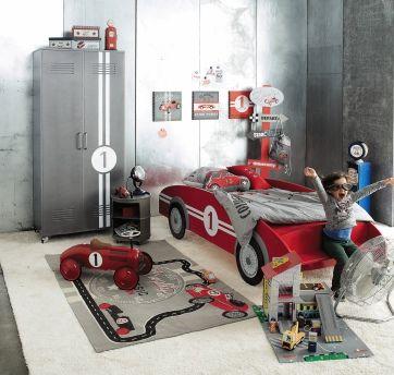 Déco chambre d\'enfants : les lits à thème | Pinterest | Lit voiture ...