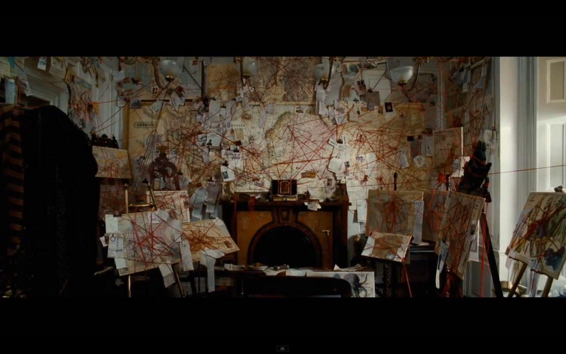 Detective Evidence Board From Bbc S Sherlock Sherlock Dream