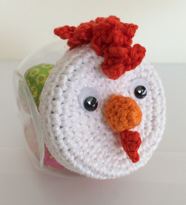 Snoeppotje Kip Made By Marygold Deksel Versiering Crochet