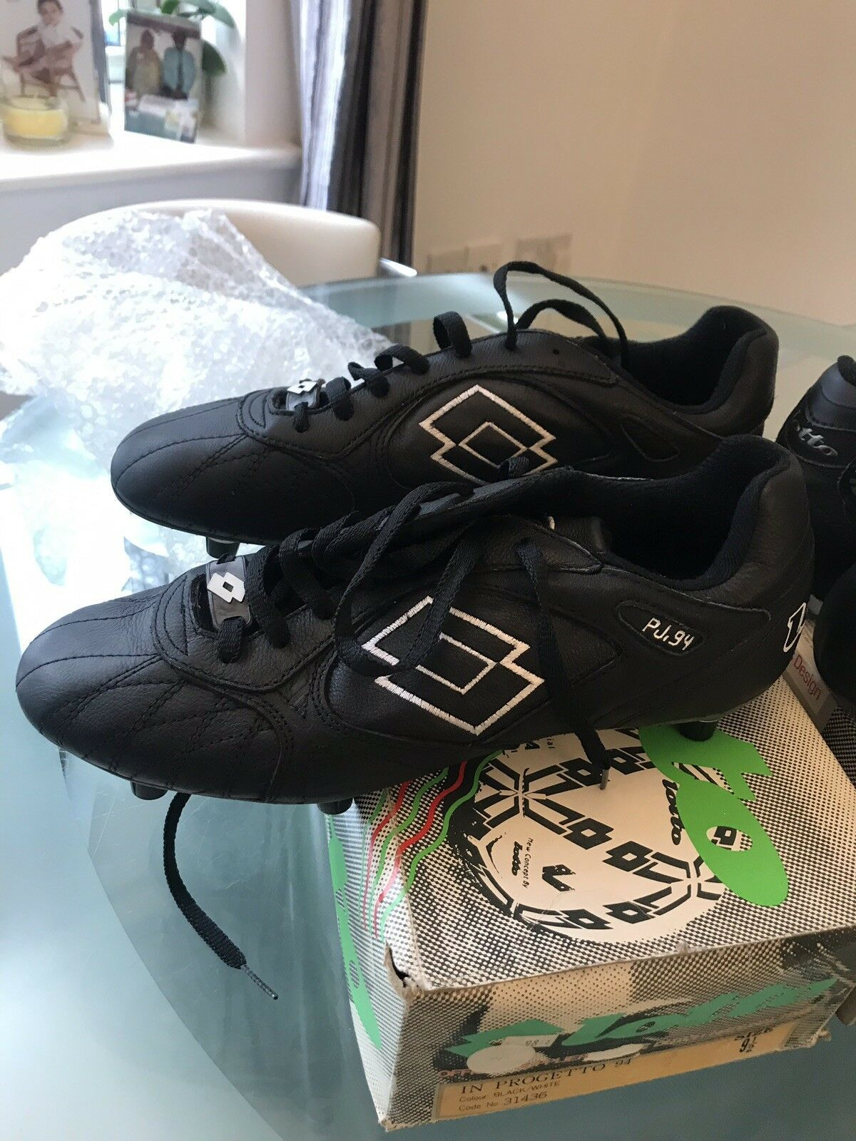 Vintage Lotto Football Boots Uk 9.5  a3263c7a36586