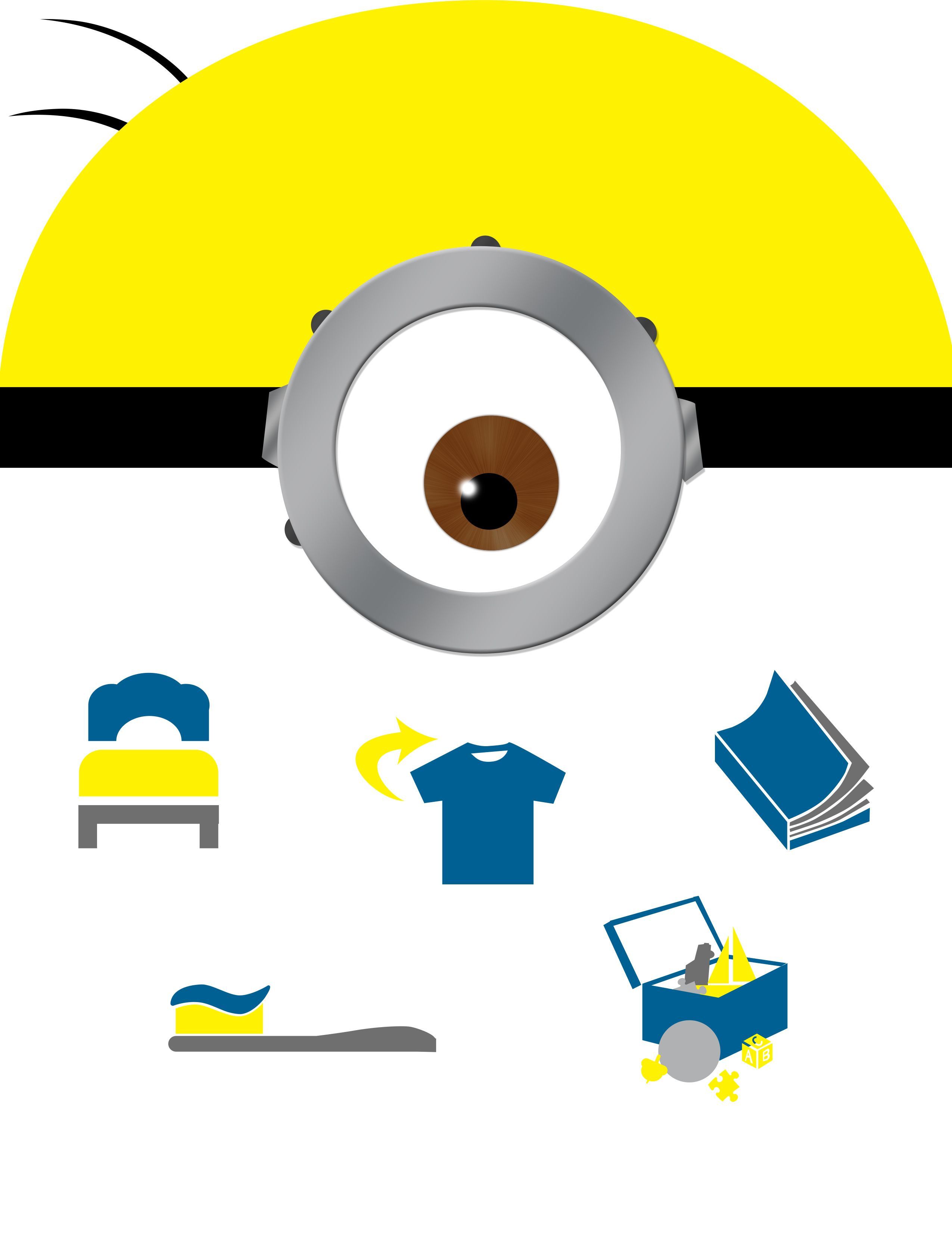 Minions Inspired Chore Chart Daily Checklist For Young
