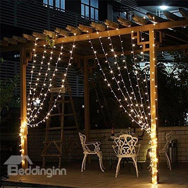 White 12*25 String Bulbs Plug-in Waterproof LED Lights Bulbs and