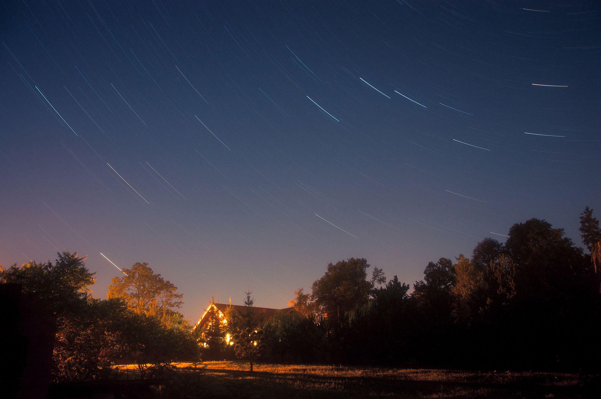 Mazury - niebo pełne gwiazd,  photo: Anna Kwiatkowska