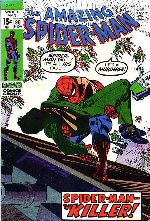 The Amazing Spider-Man (Vol. 1) 090 (1970/11)