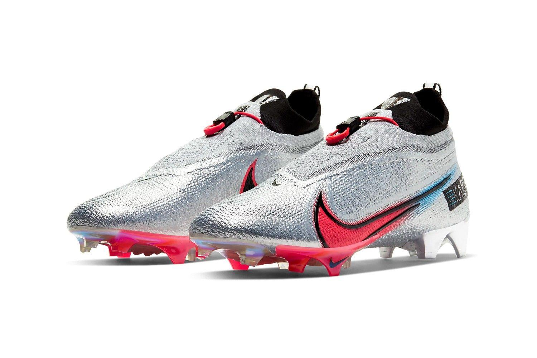 Nike S Vapor Edge Football Cleats Focus On Speed Performance In 2020 Football Cleats American Football Cleats Nike Vapor