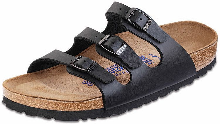fc75f3f160b Florida by Birkenstock! Available in 3 colors. Triple-strap sandal in a  variety of materials with fully adjustable straps and shock-absorbing EVA  sole.
