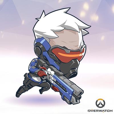Cute Soldier 76 Chibi Overwatch Overwatch Chibi