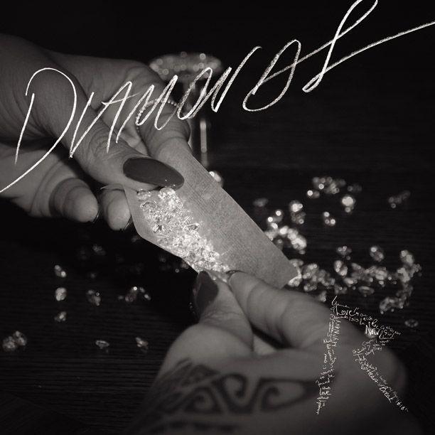 Rihanna Diamonds Single Cover Art | Nick Cannon