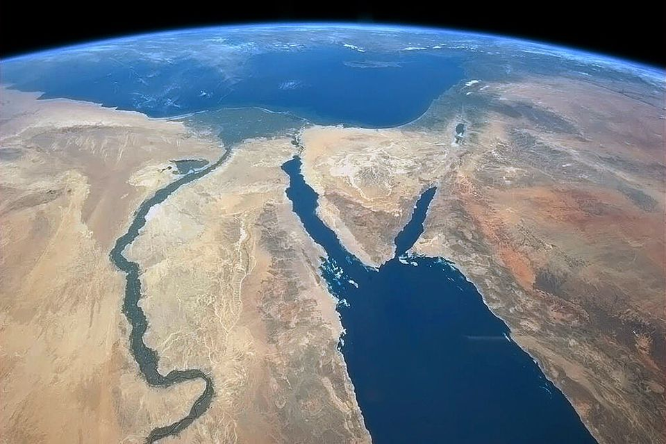 The View From the Top | World | Pinterest | Sinai peninsula, Nile ...
