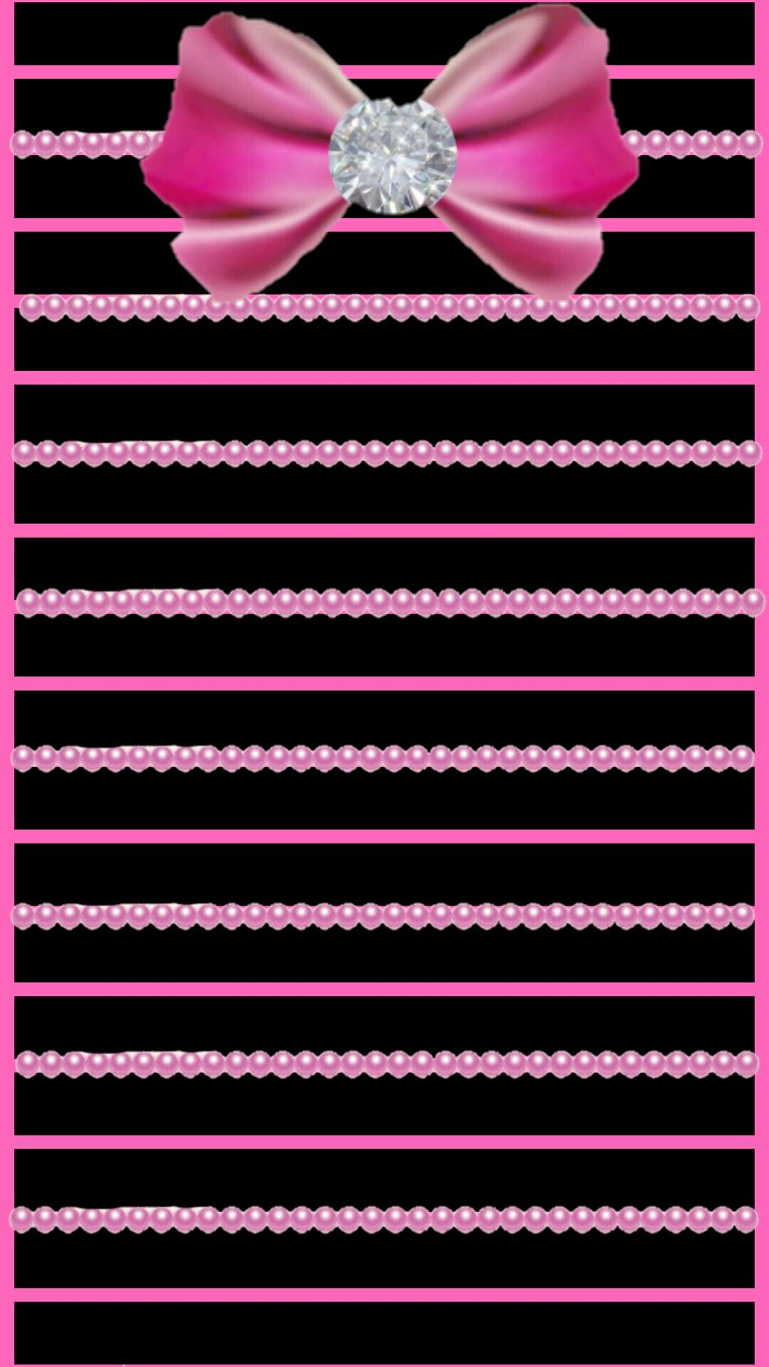 Pink girly bling. Pretty wallpaper iphone, Pretty
