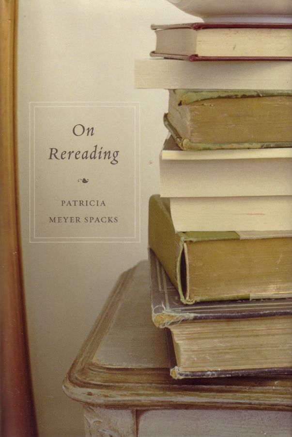 One of two books on rereading.