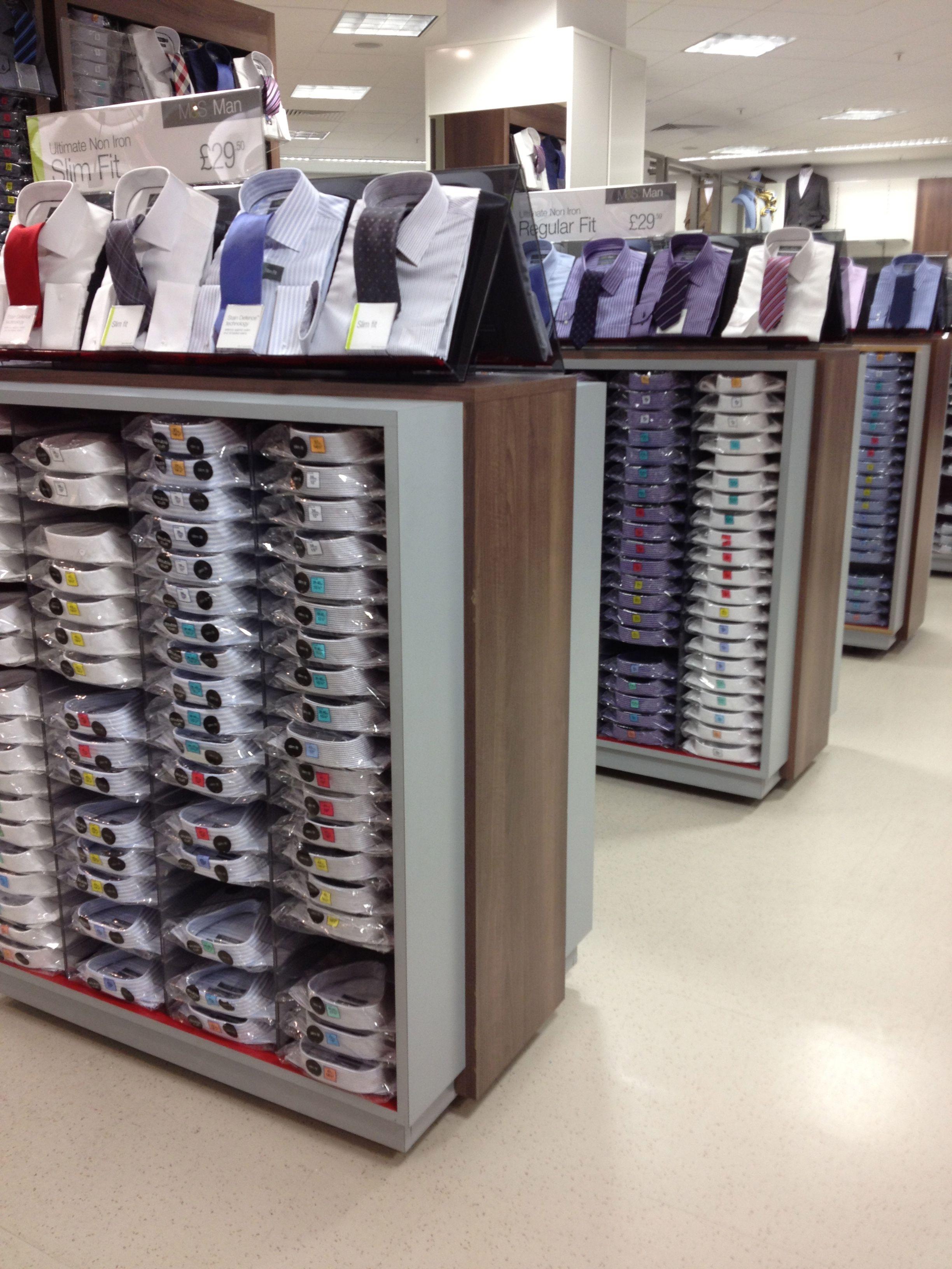 760c596b8 Mens - Formal Shirts Clothing Store Interior, Merchandising Displays, Store  Displays, Formal Shirts