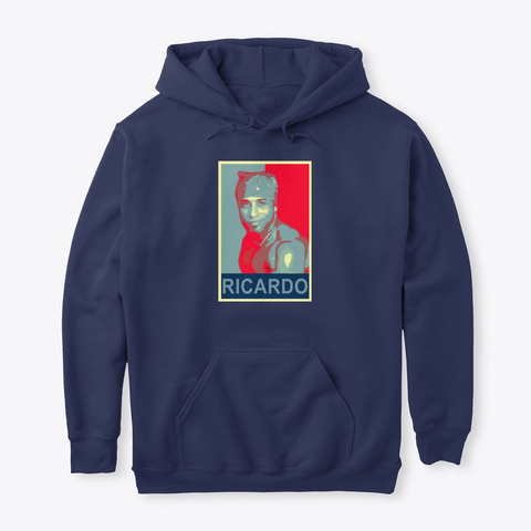 Ricardo Milos Hope Products From Ricardo Store Teespring Ricardo Milos Has His Take On The Famous Campaign Poster Hope In His Hoodies Cool Hoodies Shirts