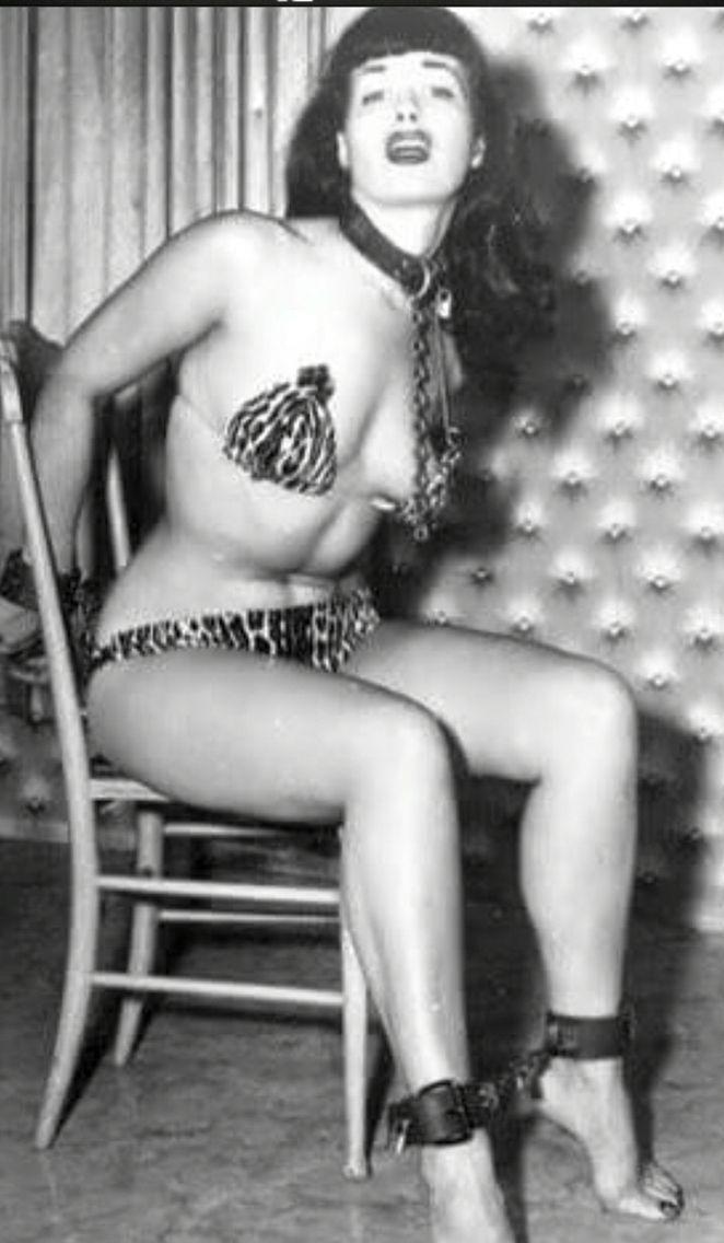Betty page lesbian