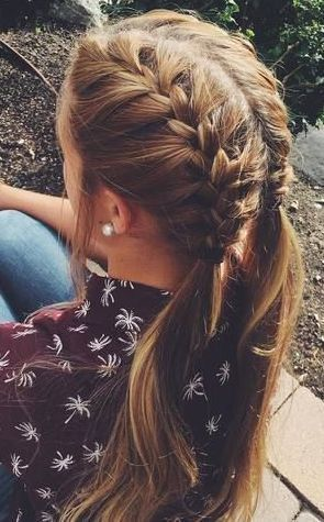 Gorgeous Double French Hair Braids Braids With Curls French Braid Hairstyles Braided Hairstyles