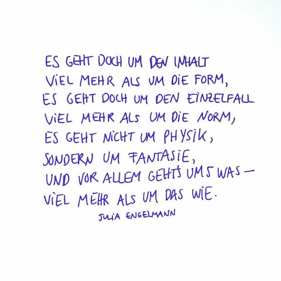 Pin Von Little Moe Auf Spruche Lyrische Zitate Julia Engelmann