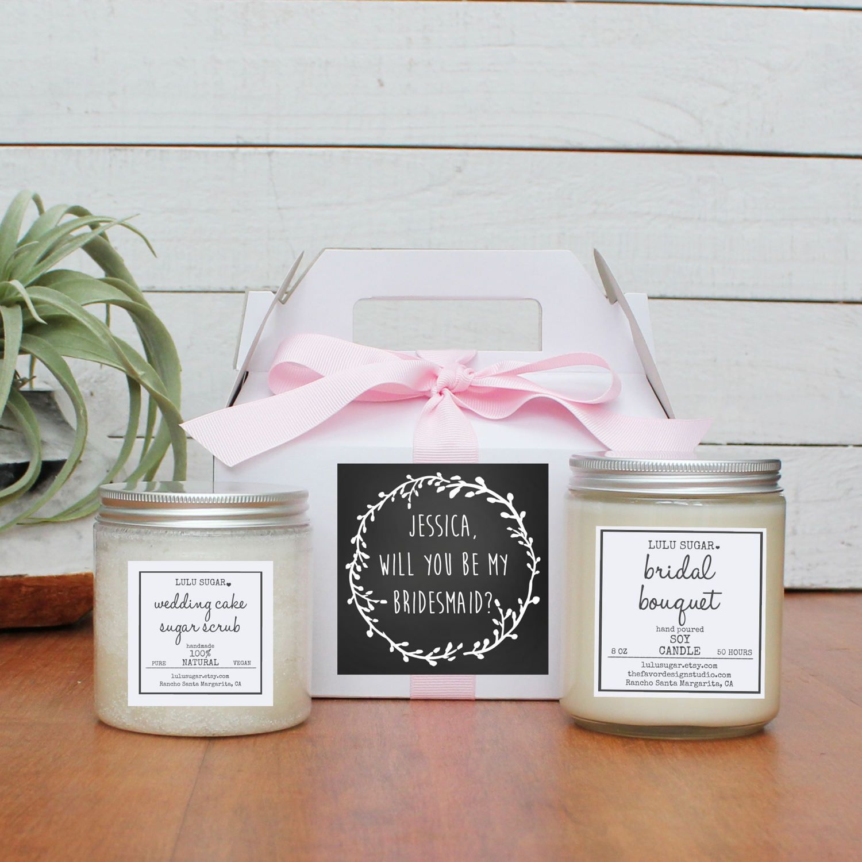 Bridesmaid gift ideas bridesmaid gift set maid of honor gift set