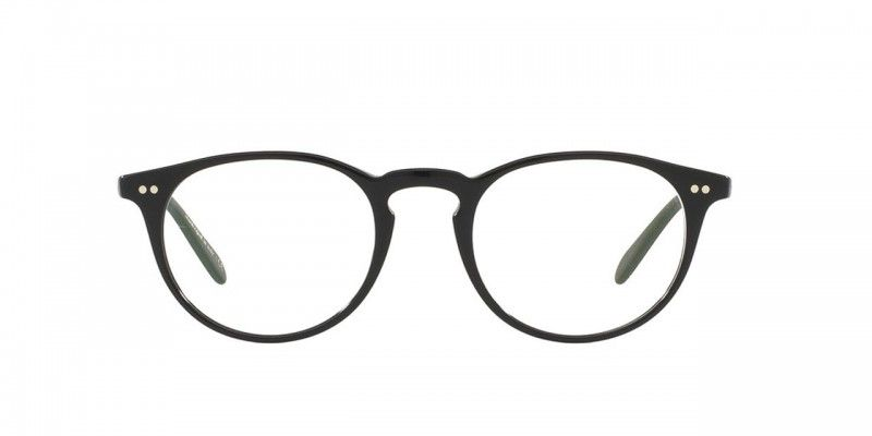 Oliver Peoples | Riley-R Black Optical Eyewear by Oliver Peoples ...
