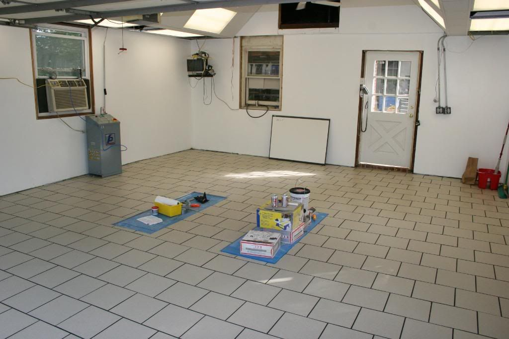 In Floor Scissor Lift Install The Garage Journal Board
