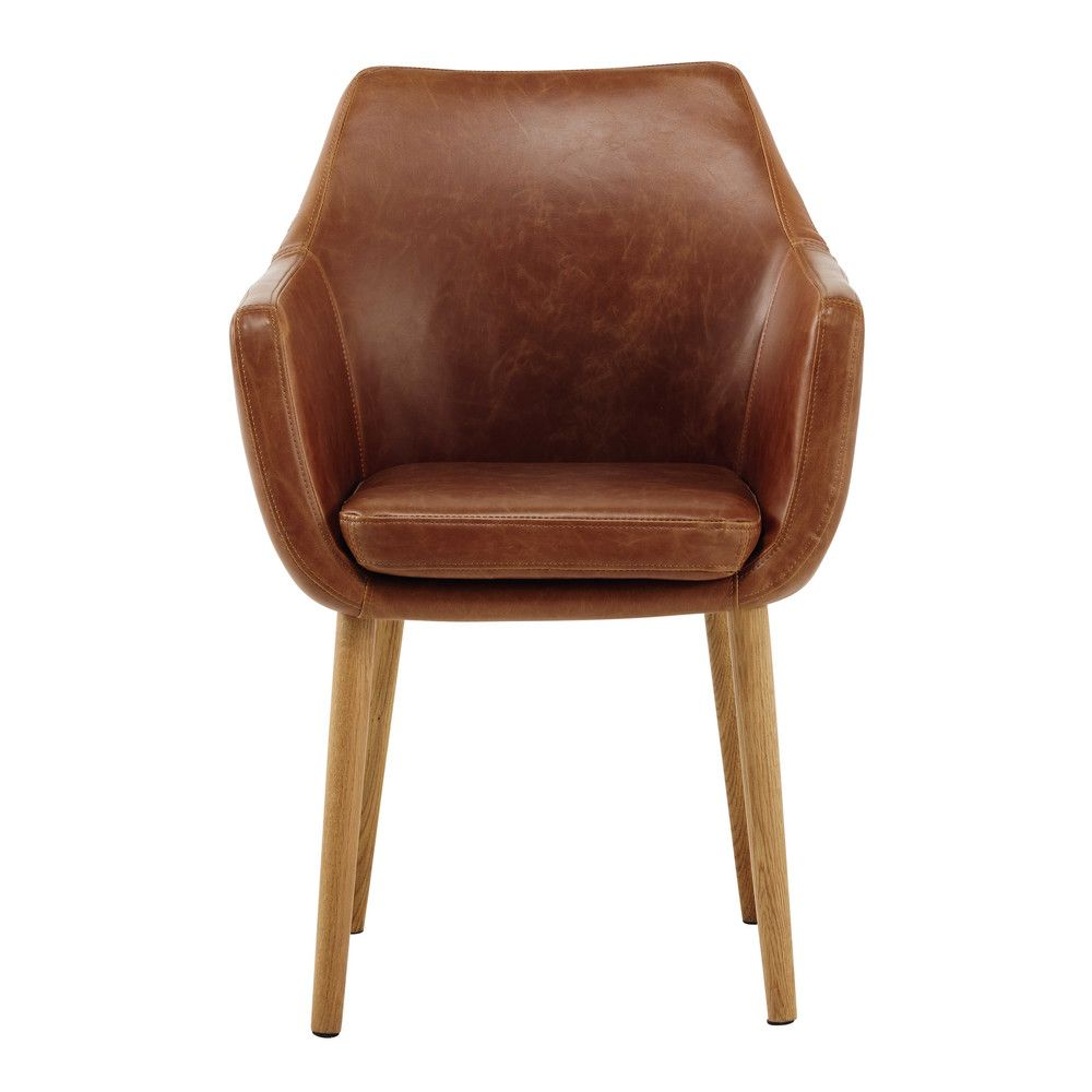 Fauteuil Vintage Marron Armchair Sofa Styling Affordable Furniture