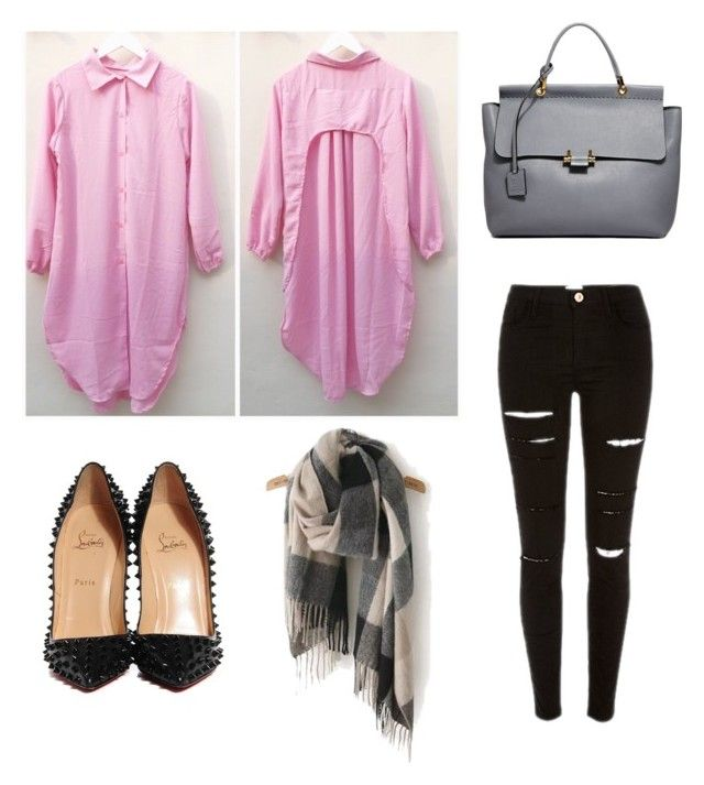 """""""Pink"""" by stzara on Polyvore featuring beauty, Christian Louboutin and Lanvin"""
