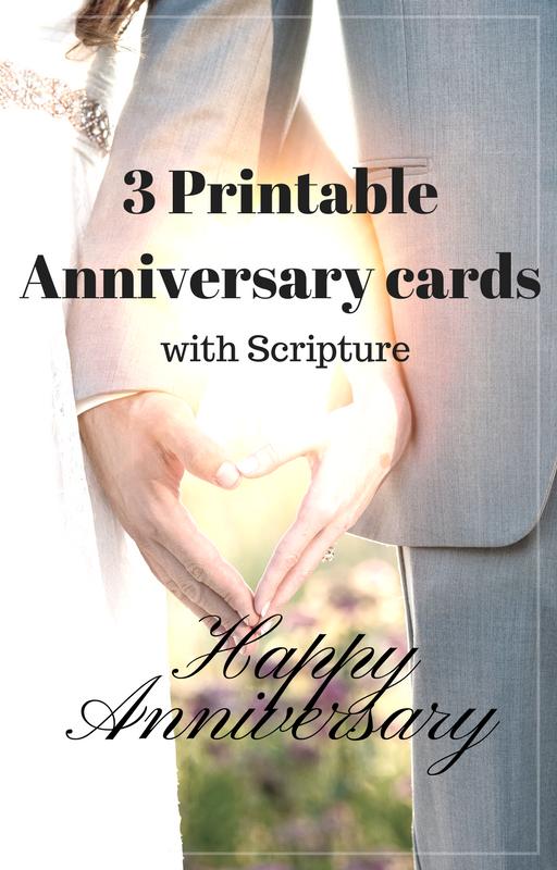 3 Printable Christian Anniversary Cards https//www
