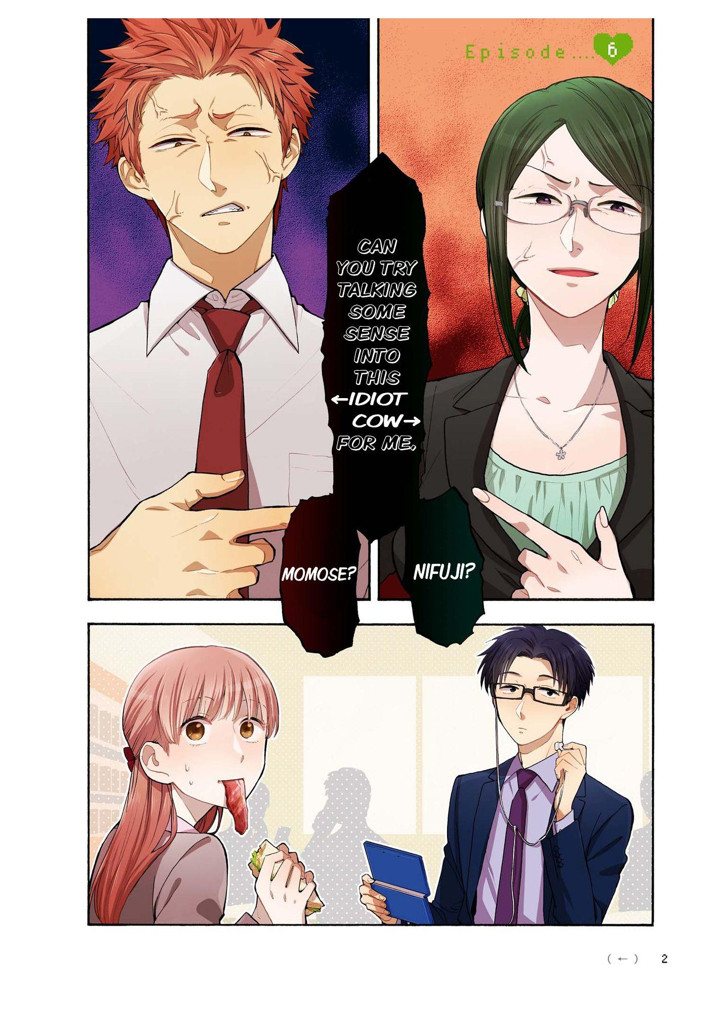 Read manga Wotaku ni Koi wa Muzukashii Vol.002 Ch.006