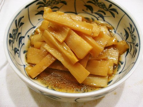 Spicy Pickled Bamboo Shoots - [I believe bamboo is stem similar to sugarcane (FahmeenaOdetta)]