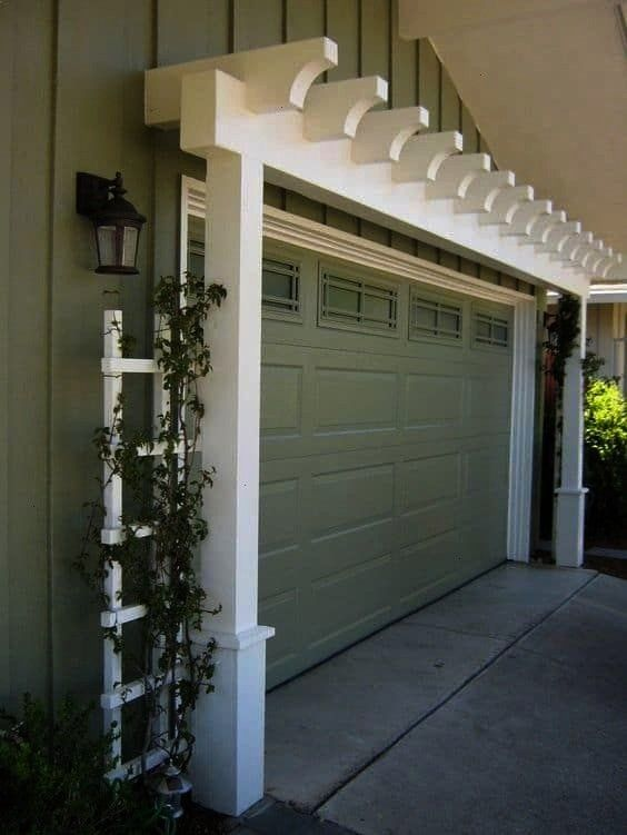 Appeal Ideas To Enhance and Draw Attention To The Front Of Any Home 717 Curb Appeal Ideas To Enhance and Draw Attention To The Front Of Any Home 7 choose from several gar...